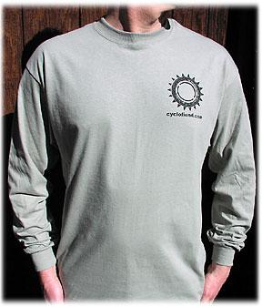 Cyclofiend.com T-shirt - FRONT