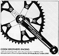 Cook Brothers Racing Ad - 1985