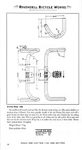Nitto Model 185 Handlebar schematic - click for large version