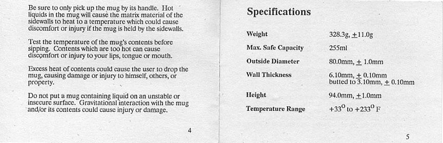 Cyclofiend Salsa Mug Owner S Manual