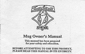 Salsa Cycles - Mug Owner's Manual