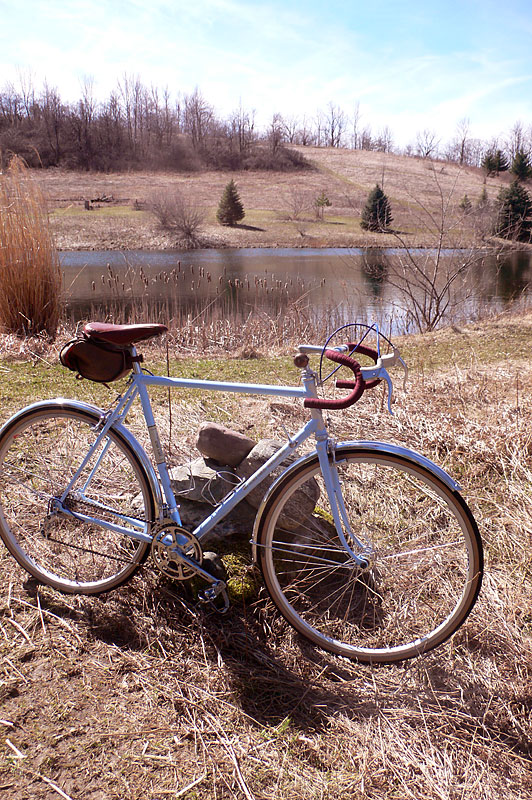 CC Bicycle Gallery: Douglas Brooks' A. Homer Hilsen Custom Built Bicycle