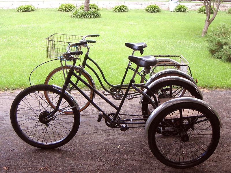 Wb Bicycle Gallery Rick Paulos Worksman Tricycle